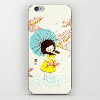 장마   Rainy Season iPhone & iPod Skin