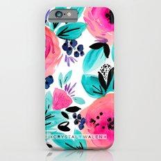 Savannah Flower Slim Case iPhone 6s