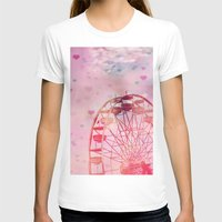 Love is in the Air Womens Fitted Tee White SMALL