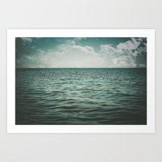 Into The Sea Of Lost Souls  Art Print