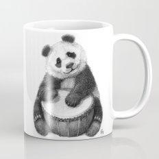 Panda playing percussion G140 Mug