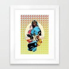 Looking for J Framed Art Print