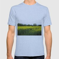Hot As Mustard Mens Fitted Tee Athletic Blue SMALL
