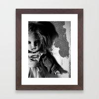 Old Doll 8-21-2007 060 Framed Art Print