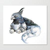 Little Gryphon Canvas Print