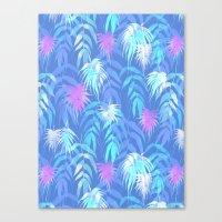New Palm Beach - Summer Canvas Print