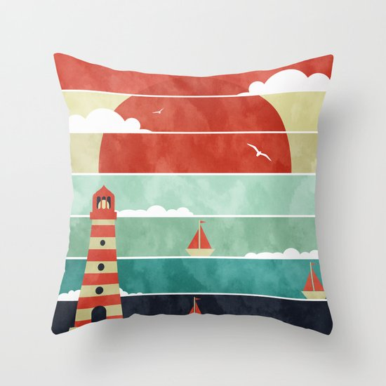 Coming Home. Throw Pillow