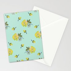 small vintage roses Stationery Cards