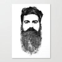 El Hipster Canvas Print