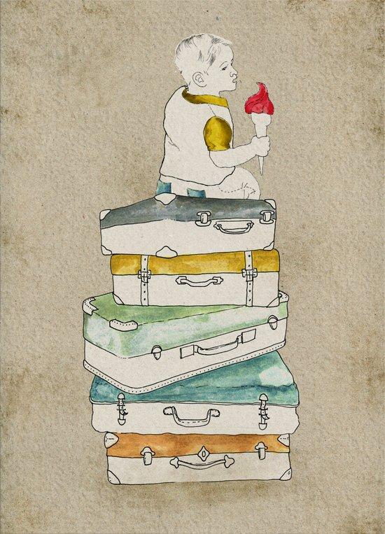 happy holiday Canvas Print