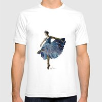 Ballerina  Mens Fitted Tee White SMALL
