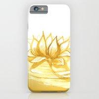 The Golden Lotus iPhone 6 Slim Case