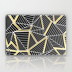Ab Lines 2 Gold Laptop & iPad Skin