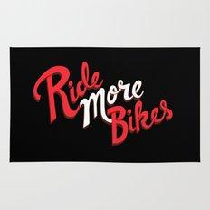 Ride More Bikes Rug
