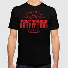 Wayward Outfitters SMALL Mens Fitted Tee Black