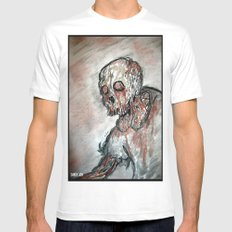 Twilight of the Dead Mens Fitted Tee White SMALL