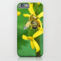 iPhone & iPod Case featuring bee by Cloud Rainbow