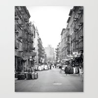 Lower East Side Market Canvas Print