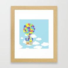 Up! Framed Art Print