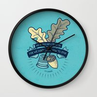 We Don't Know How To Sto… Wall Clock