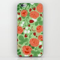 Roses And Strawberries O… iPhone & iPod Skin