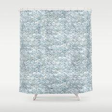 bubble wrap! Shower Curtain