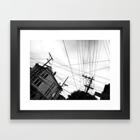 Page St San Francisco Framed Art Print