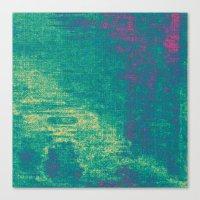 21-74-16 (Aquatic Glitch… Canvas Print