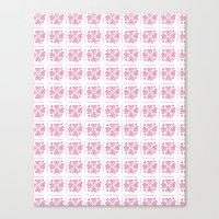 Pink 01 Canvas Print