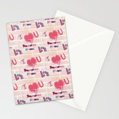 You and me forever Stationery Cards
