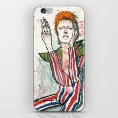 Schiele's Bowie iPhone & iPod Skin