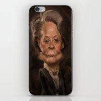 Dame Maggie Smith iPhone & iPod Skin