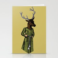The Stately Stag Stationery Cards