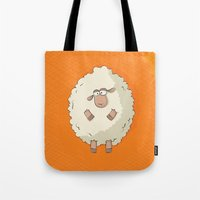 Giant Sheep Tote Bag