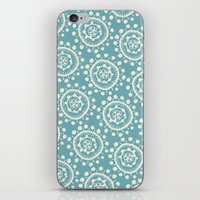 Wheels: Blue iPhone & iPod Skin