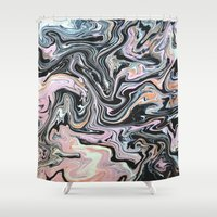 Have a little Swirl Shower Curtain