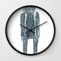 monsieur poire Wall Clock