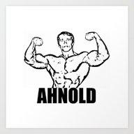 Arnold Schwarzenegger  |… Art Print