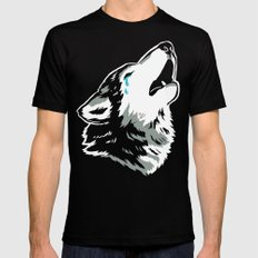 Cry Wolf Mens Fitted Tee Black SMALL