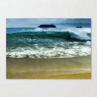 Beach Wave Canvas Print