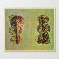 Urns Canvas Print