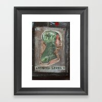 ANDROID LEVEL 4 Framed Art Print