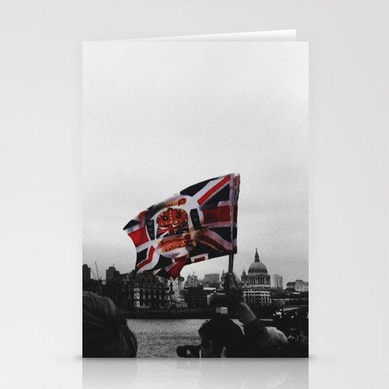 Jubilee Flag Stationery Card
