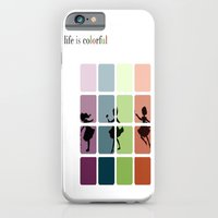Life is colorful iPhone 6 Slim Case