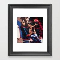 Manny Pacquiao Aka Kamao… Framed Art Print