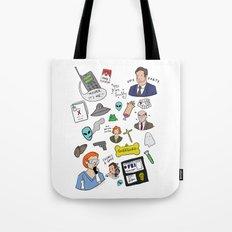 The X-Files Tote Bag