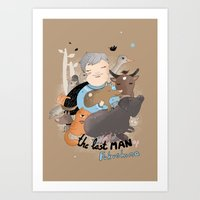 The Last Man In Fukushim… Art Print