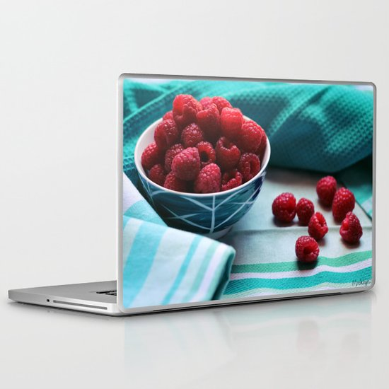 Ruby Delicious - Raspberry Still Life Laptop & iPad Skin