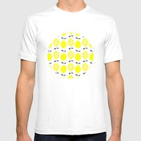 LEMONS  Mens Fitted Tee White SMALL