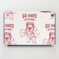 Go Hard or Go Home Sloth iPad Case